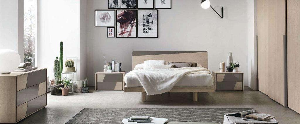 wooden single bed, xilino krevati me stroma, krevati mikro me psili kefalaria, high headboard double bed, xilino krevati domatiou, walnut grey bed