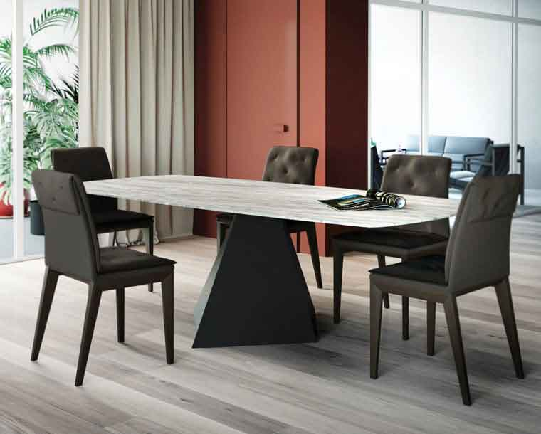 table, modern table,  trapezi, chairs, karekles, accessories, dining table, kitchen table, andreotti, andreotti furniture, epipla, furniture, limassol, cyprus