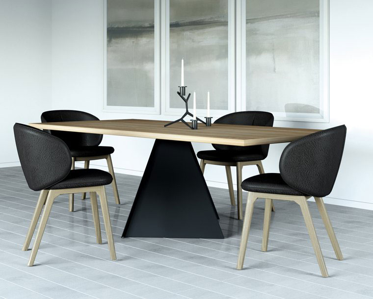 table, modern table, wooden table, trapezi, chairs, karekles, accessories, dining table, kitchen table, andreotti, andreotti furniture, epipla, furniture, limassol, cyprus