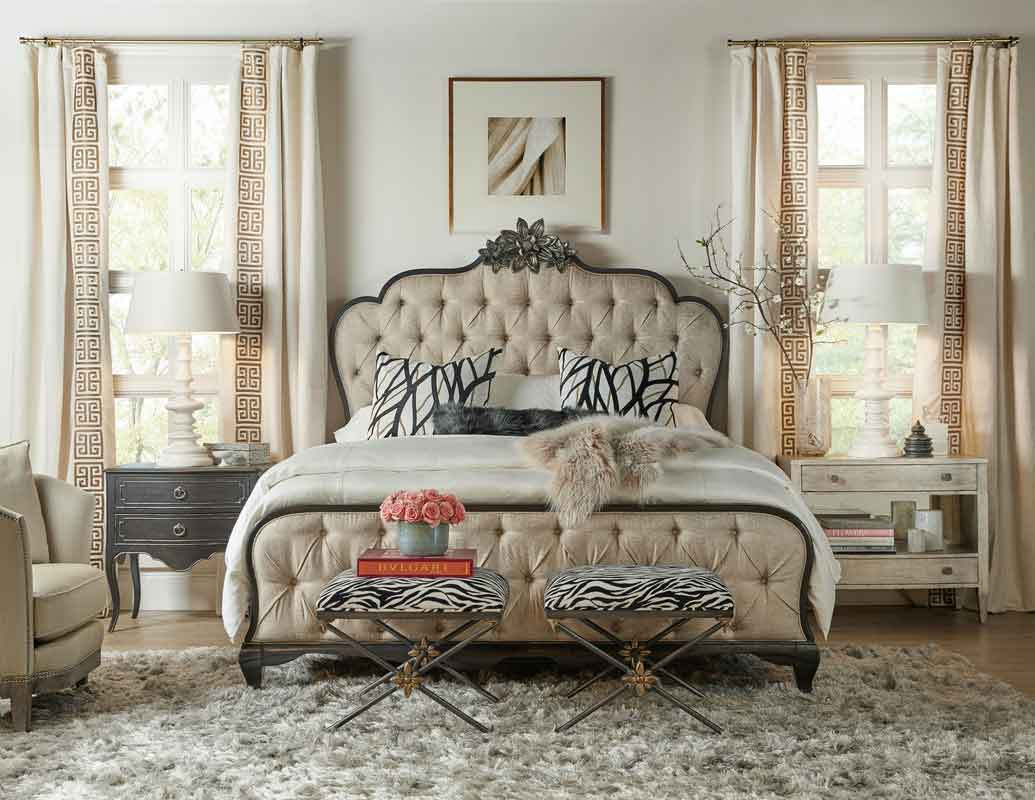 brown legs vintage full capitone bed with classic headboard and design, klassiko krevati me capitone kefalaria kai  xilina podia, vintage modern bedroom,
