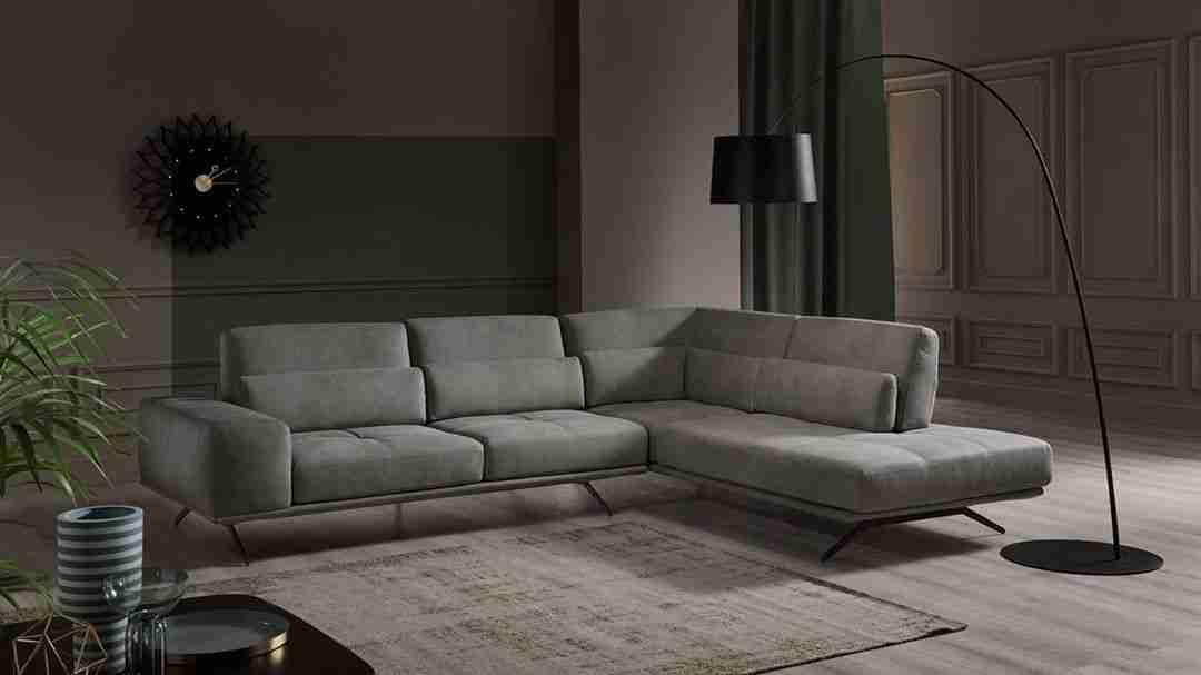 sofa, kanapes, grey sofa, gkrizos kanapes, modern sofa, trapezaki, table, coffee table, carpet, xali kathistikou, xalaki, andreotti, furniture, cyprus, limassol, epipla