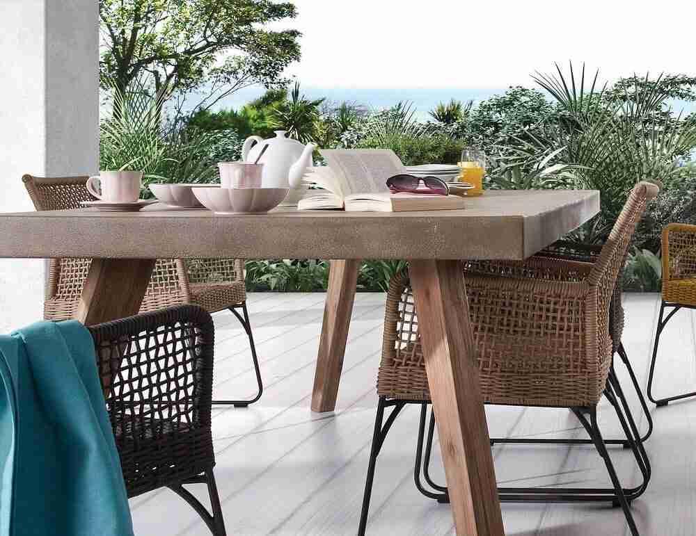 table, trapezi, chairs, karekles, garden table, garden furniture, garden chairs, accessories, plates, wine glasses, andreotti, furniture, cyprus, limassol, epipla