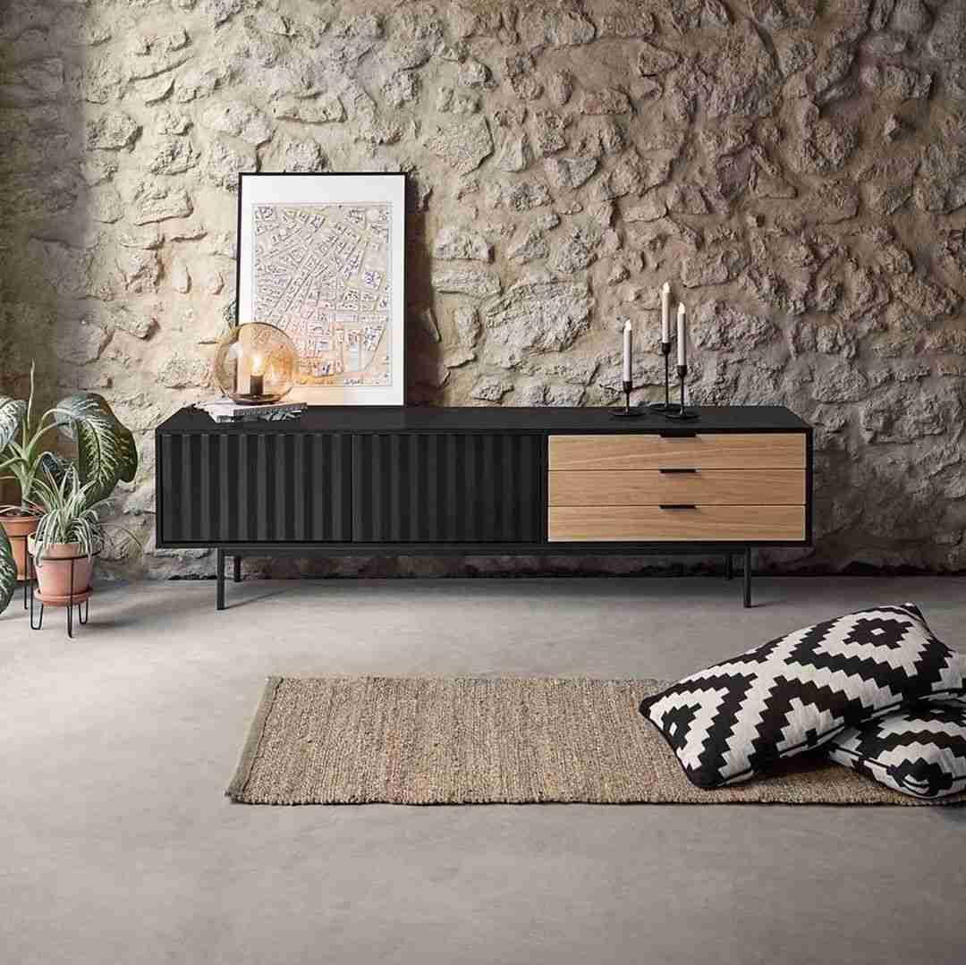 konsole, limassol, tv stand, wood, wooden, konsola, dark wood, accessories, andreotti, furniture, cyprus, limassol, epipla