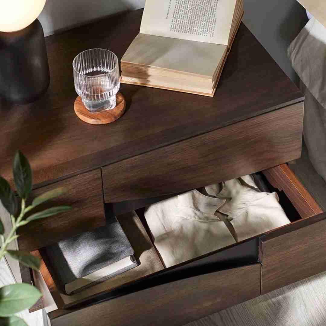night stand, komodino, wood, wooden, wooden nightstand, ksilino komodino, modern, classic, accessories,, andreotti, furniture, cyprus, limassol, epipla