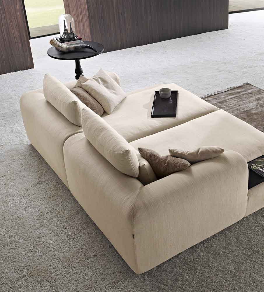 comfy sofa bed, beige fabric sofa that is bed, wide sofa for playroom, platis kananapes krevati, kanapes krevati xoris podia, chaise long sofa fabric, kanapes ifasmatinos mpez megalos se vathos,